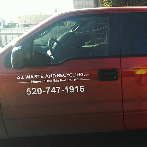Pro Cut Vinyl for Arizona Waste