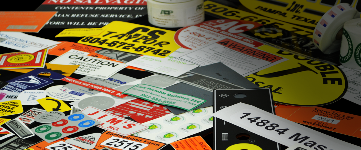Industrial Labels, Stickers and Decals
